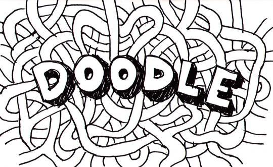 Image result for doodle word
